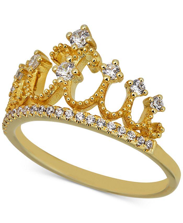 Macy's - Diamond Tiara Ring (1/3 ct. t.w.) in 14k Gold