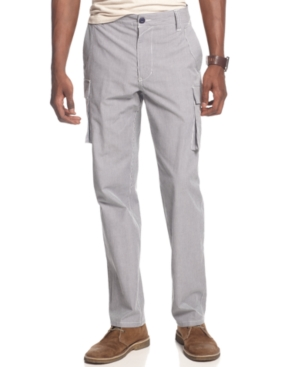 Sean John Pants Marcus Yarn Dyed Cargo Pants