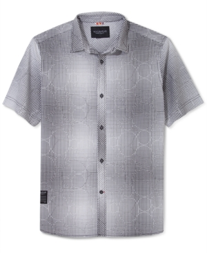 Rocawear Shirt Jacquard Button Front Shirt