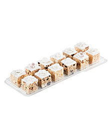 Treat House's Selection of our Hand Made Rice Krispie Treats Designed For The Bride and Groom