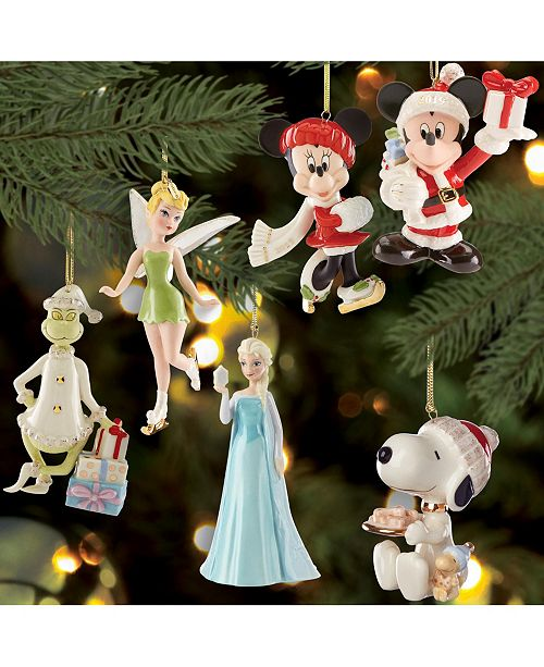 Lenox Christmas Character Ornament Collection & Reviews   Holiday