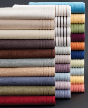 "hotel collection bath towels, microcotton 35"" x 70"" bath sheet"