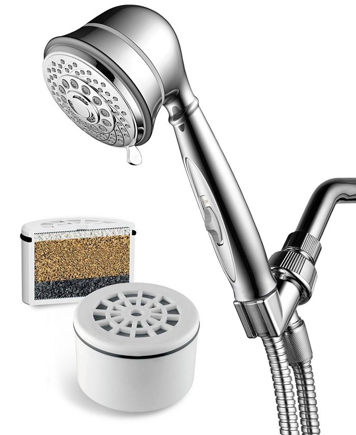 HotelSpa - AquaCare By Hotel Spa 7-Setting Filtered Handheld Shower Head