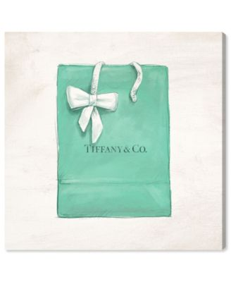 Jewelry Shopping Bag Canvas Art, 36