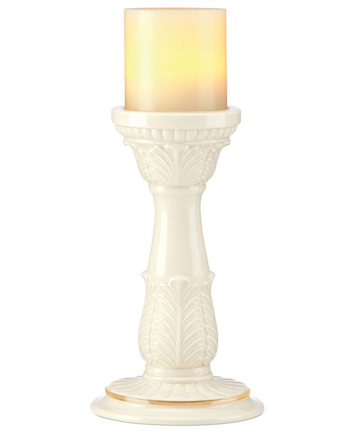 Lenox - Candle Holder, Illuminate Leaf Pillar