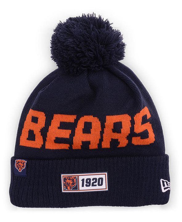 New Era Chicago Bears Road Sport Knit Hat
