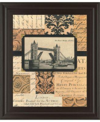 "Travel Collage II by Gillian Fullard Framed Print Wall Art, 22"" x 26"""