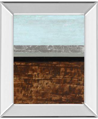 "Textured Light II by Natalie Avondet Mirror Framed Print Wall Art, 22"" x 26"""