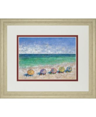 """South Shore II by Dominick Framed Print Wall Art, 34"""" x 40"""""""