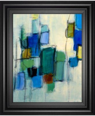 """Bayside II by Lannie Loreth Framed Print Wall Art, 22"""" x 26"""""""