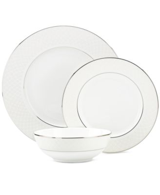 Lenox Venetian Lace 3-Piece Place Setting