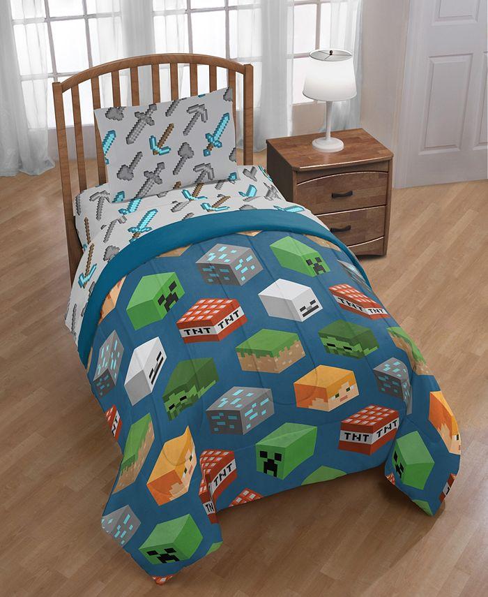 Minecraft - 5-Piece Full Comforter Set