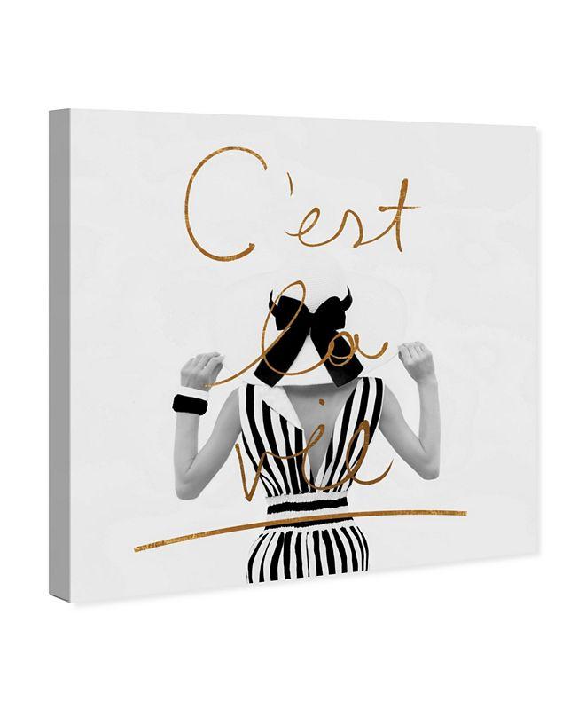 """Oliver Gal Cest La Vie Canvas Art, 43"""" x 43"""""""