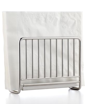 Martha Stewart Collection Stainless Steel Napkin Holder