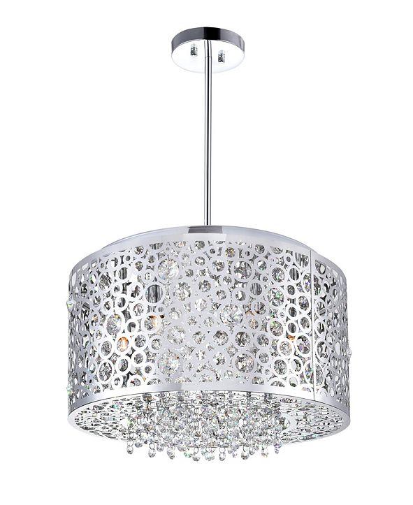 CWI Lighting Bubbles 6 Light Chandelier