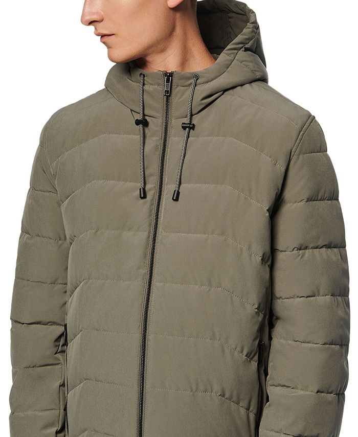 Marc New York - Men's Claxton Packable Down Hooded Jacket