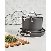 Belgique Stackable 10-Piece Nonstick Aluminum Cookware Set