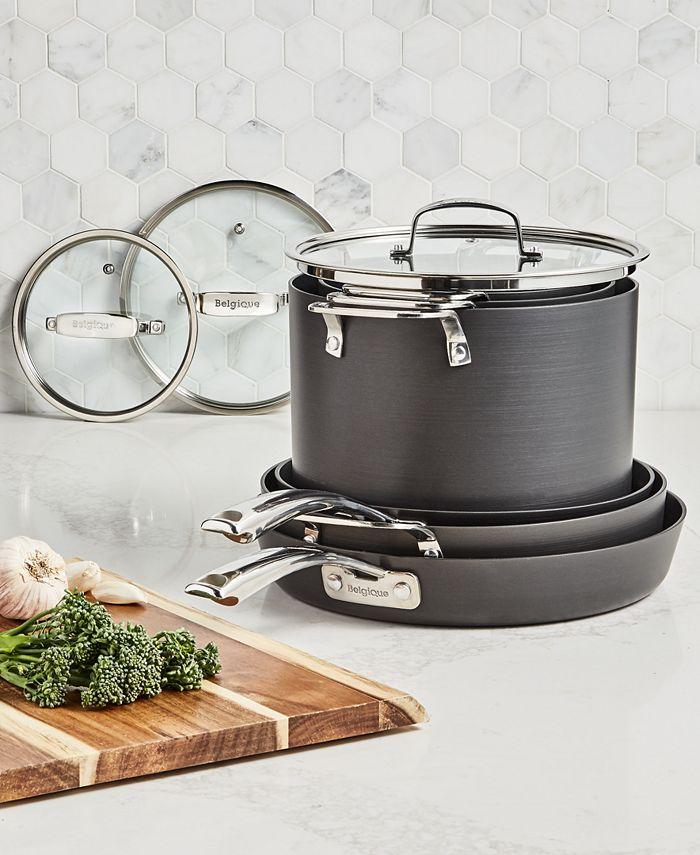Belgique - Stackable 10-Pc. Nonstick Aluminum Cookware Set