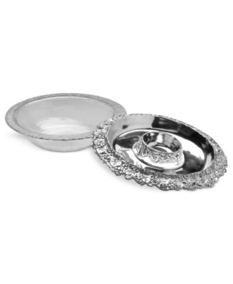 Arthur Court Serveware, Grape Appetizer Tray & Glass Bowl