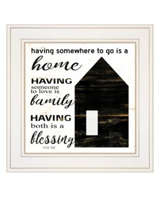 A Blessing by Cindy Jacobs, Ready to hang Framed Print, Black Frame, 15