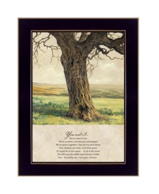 Forever By Bonnie Mohr, Printed Wall Art, Ready to hang, Black Frame, 22