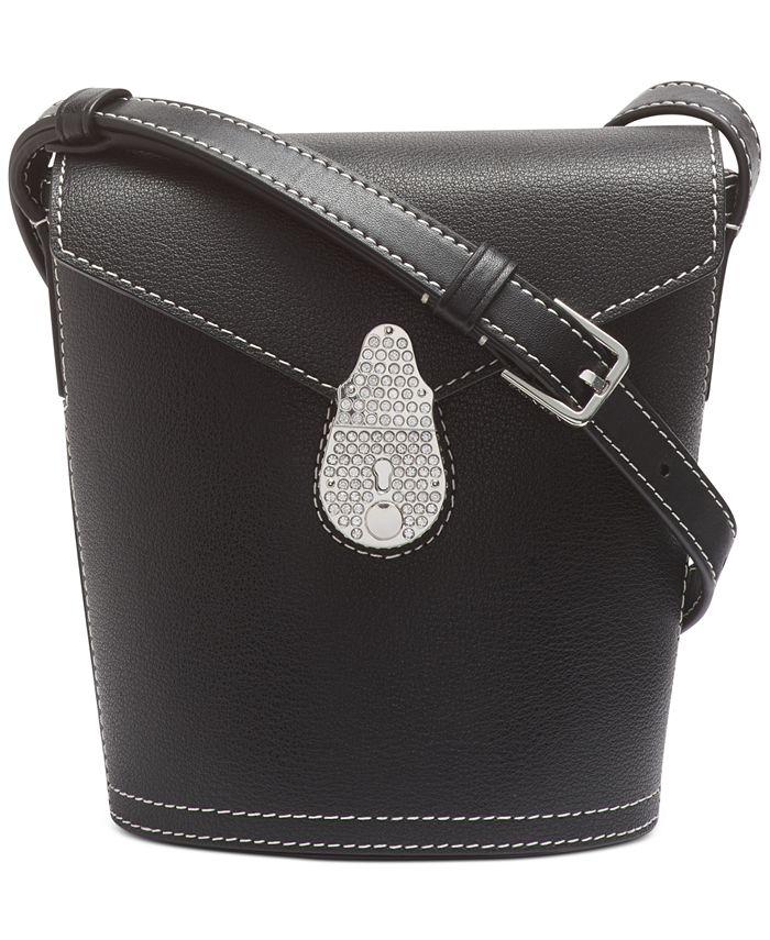 Calvin Klein - Lock Leather Mini Bucket Bag