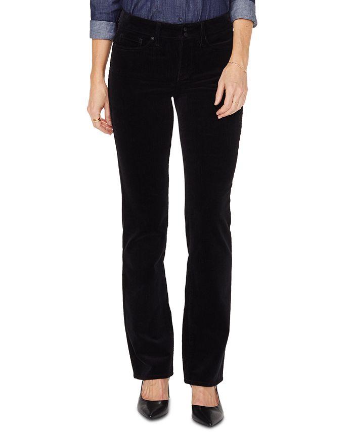 NYDJ - Marilyn Double-Snap Straight-Leg Jeans