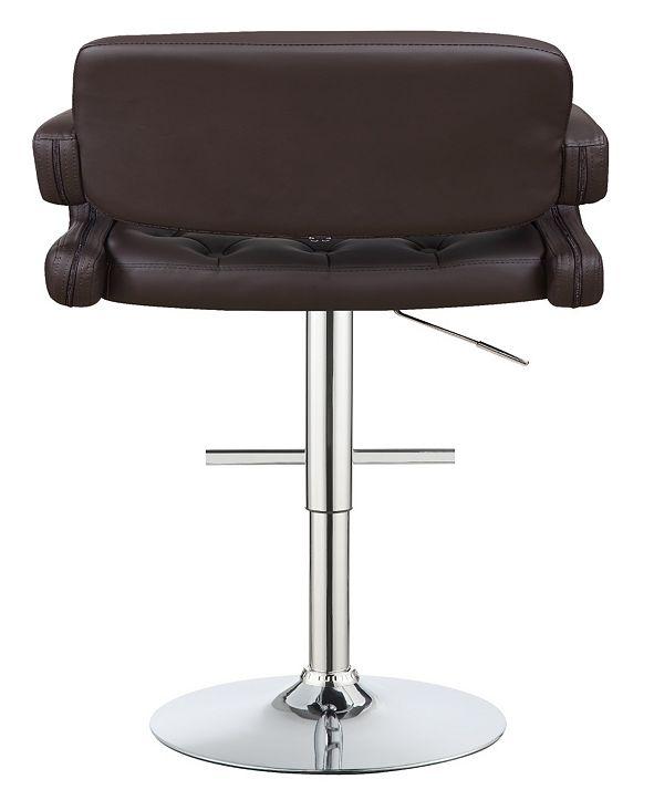 "Coaster Home Furnishings Flagstaff 29"" Adjustable Bar Stool"