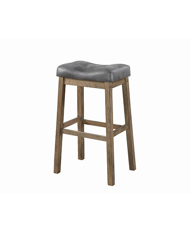 Coaster Home Furnishings Claremont Backless Bar Stools, Set of 2