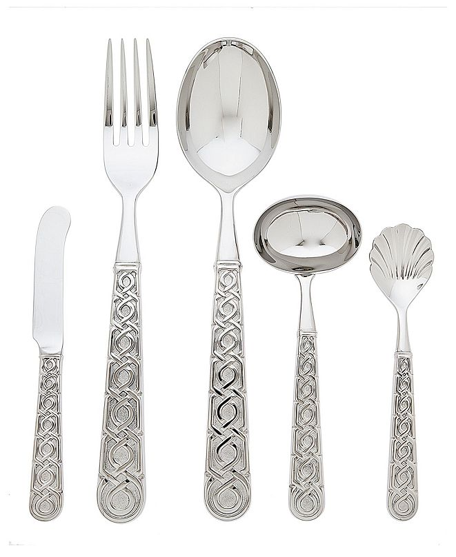 Ricci Argentieri Ricci Labirinto 5 Piece Hostess Set