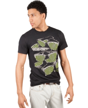 Marc Ecko Cut  Sew Shirt Short Sleeve Look Into my Eyes TShirt