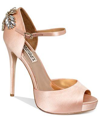 Blush Wedding Shoes Badgley Mischka Uk