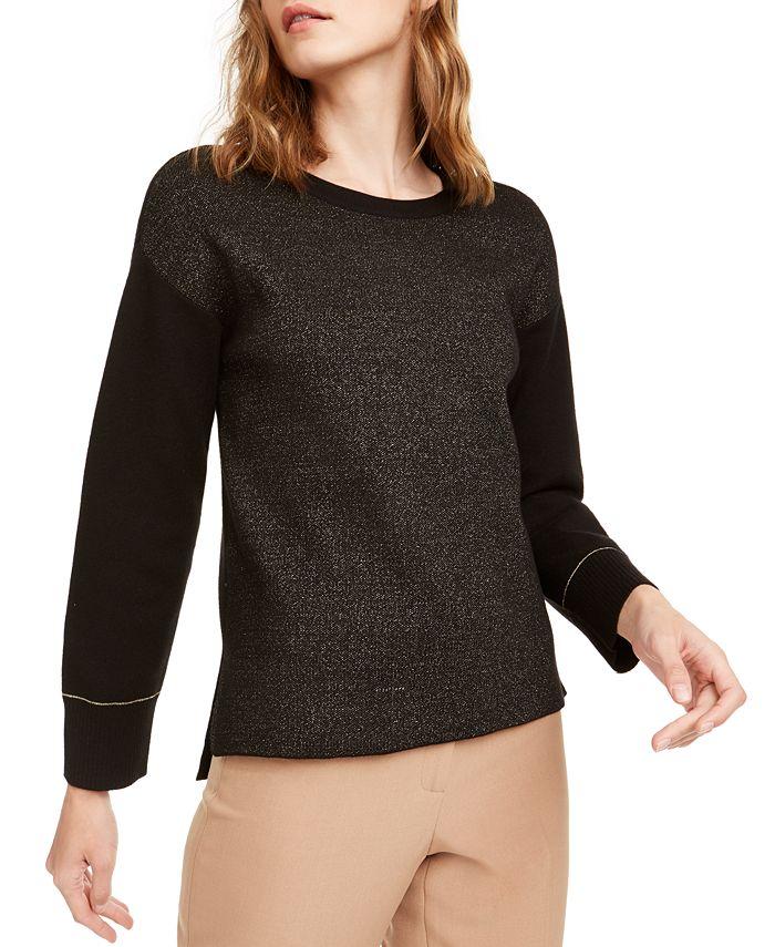 Anne Klein - Lurex Shimmer Sweater