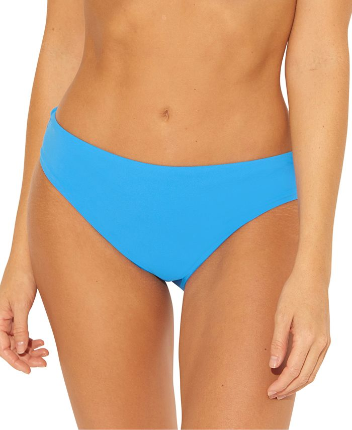Bleu by Rod Beattie - Solid Ruched-Back Bikini Bottoms