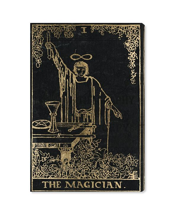 "Oliver Gal The Magician Tarot Canvas Art, 16"" x 24"""