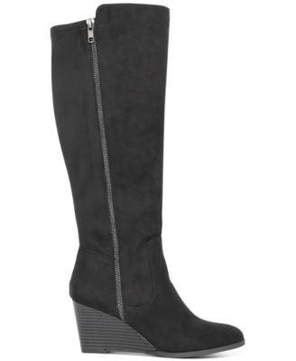 Style \u0026 Co Wynterr Wedge Dress Boots