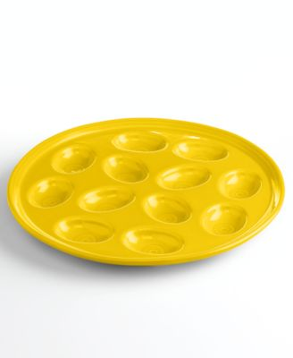 Fiesta Sunflower Egg Plate