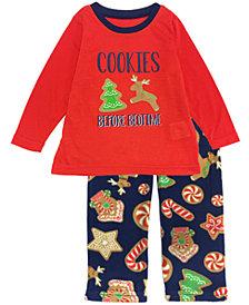 Secret Santa Matching Toddler Boys and Girls Baking Team Pajama Set, Online Only