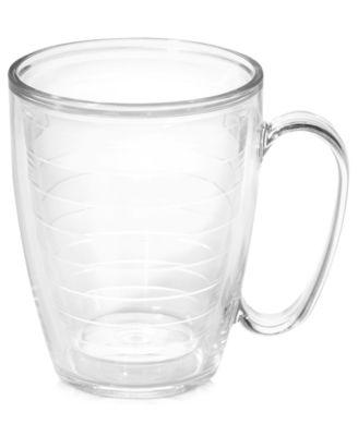 Tervis Tumbler Drinkware, Clear 15 oz. Mug