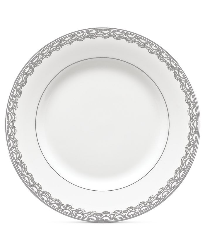Waterford - Lismore Lace Platinum Appetizer Plate