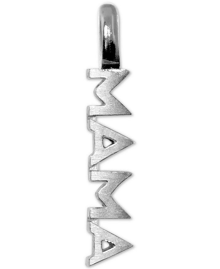 Alex Woo - Mini Mama Charm Pendant in Sterling Silver