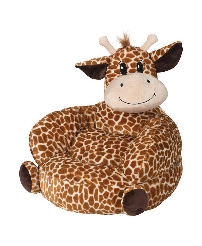Trend Lab - Children's Plush Giraffe Character Chair