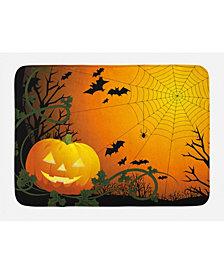 Ambesonne Spider Web Bath Mat
