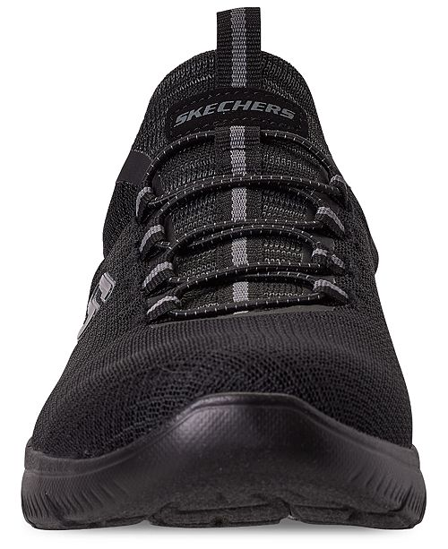 En otras palabras Obediencia Puede ser calculado  Skechers Men's Summits Slip-On Athletic Training Sneakers from Finish Line  & Reviews - Finish Line Athletic Shoes - Men - Macy's