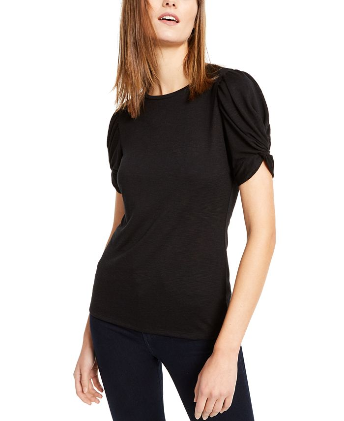 INC International Concepts - Puff-Sleeve Top