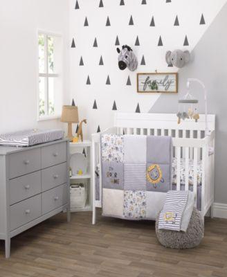 Roarsome Lion 3-Piece Mini Crib Bedding Set
