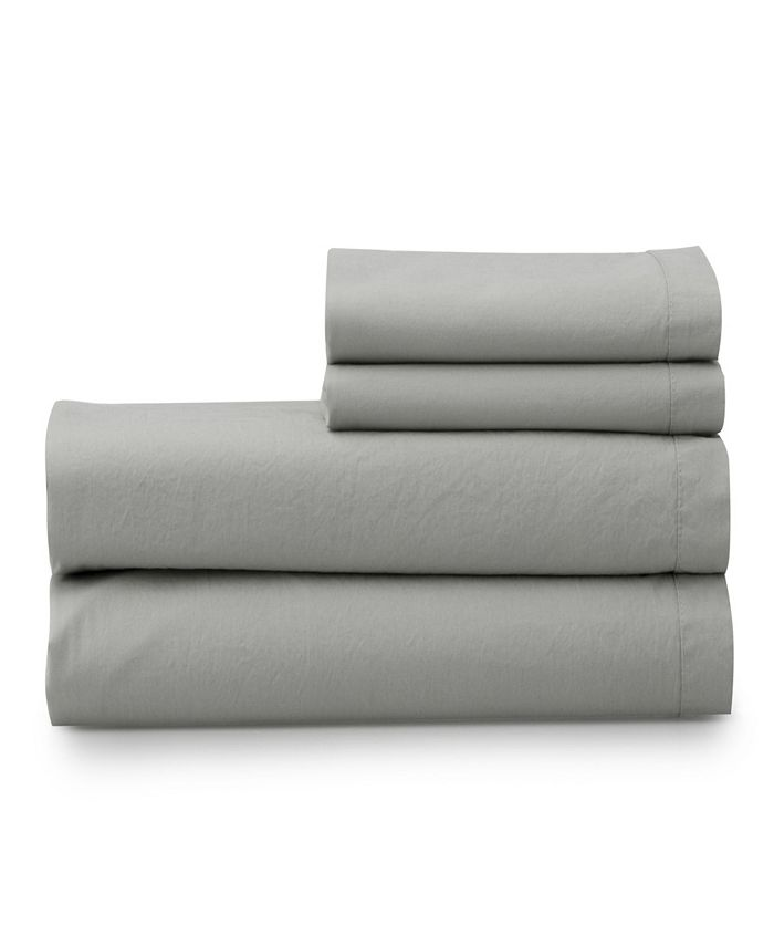 Welhome - The  Super Soft Washed 100% Cotton Breathable Full Sheet Set