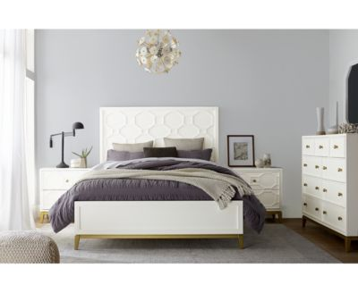 Rachael Ray Chelsea Bedroom Furniture 3-Pc. Set (Queen Bed, Nightstand & Chest)