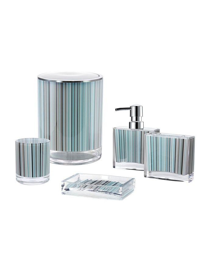 Immanuel Iced 5 Piece Bathroom Accessory Set Reviews Bathroom Accessories Bed Bath Macy S