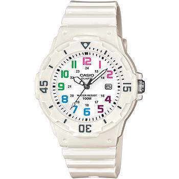Casio 34mm Women's White Resin Strap Watch
